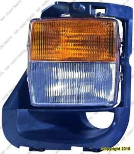 Signal Lamp With Fog Passenger Side (Cts-V) High Quality Cadillac CTS 2004-2007