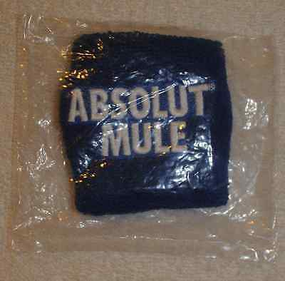 Absolute Vodka Blue Sweat Band - New in Package