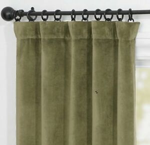 Pottery Barn velvet drapes - new- SOLD