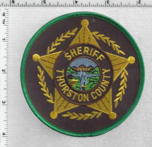 Thurston County Sheriff (Nebraska) 1st Issue Shoulder Patch