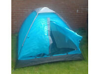 Two man tent with storage bag