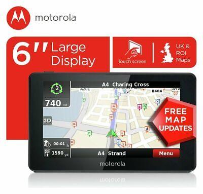 Motorola 6 Inch Sat Nav UK & ROI xplore600.