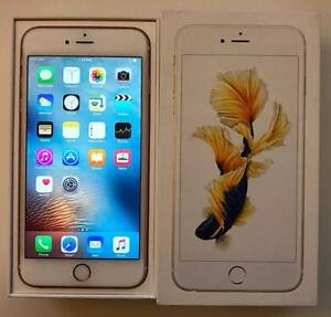 Looks new condition iPhone 6s Plus 64G Rose Gold with box and all Rockdale Rockdale Area Preview