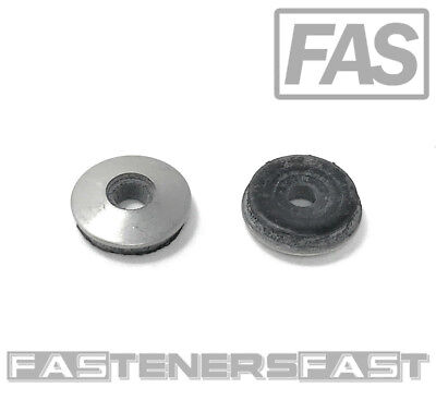 100 8 X 12 Od Stainless Steel Washer Epdm Neoprene Rubber Backed Roofing