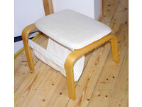 Ikea Poang foot stool, footstool, vgc. Foot stool