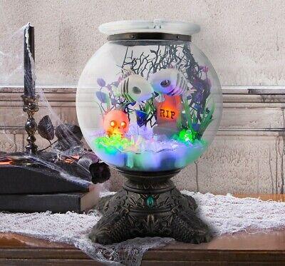 Halloween Animated Haunted Skeleton Fishbowl Target Collectible Hyde & EEK! NEW!