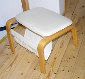 Ikea Poang foot stool, footstool, vgc. For armchair