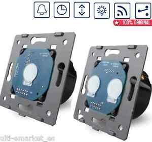 Complementos-tactiles-LED-EU-Livolo-para-panel-cristal-1-way-2-3-way-conmutador