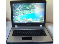 "Viglen Durus Laptop, Windows 7 or 10, Microsoft Office 2013, Intel Core 2 Duo, 15.4"" Screen,WiFi, SD"