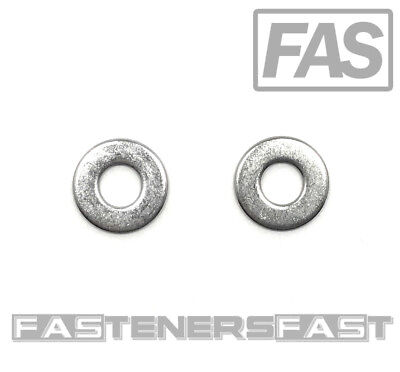 100 14 Stainless Steel Flat Washer 100 Pcs Fast Free Shipping