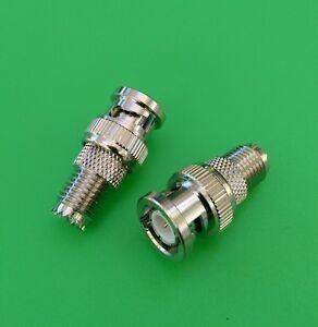 (1 PC) BNC Male to Mini UHF Female Connector - USA Seller