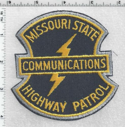 State Highway Patrol Communications (Missouri) RARE 1st Issue Shoulder Patch