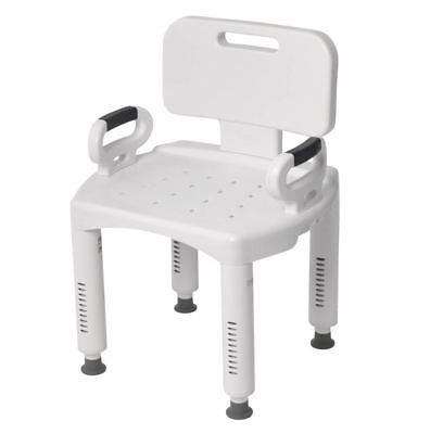 Shower Oversee With Arms Portable Small In Bath Seat Back Medical Tub Bench Stool