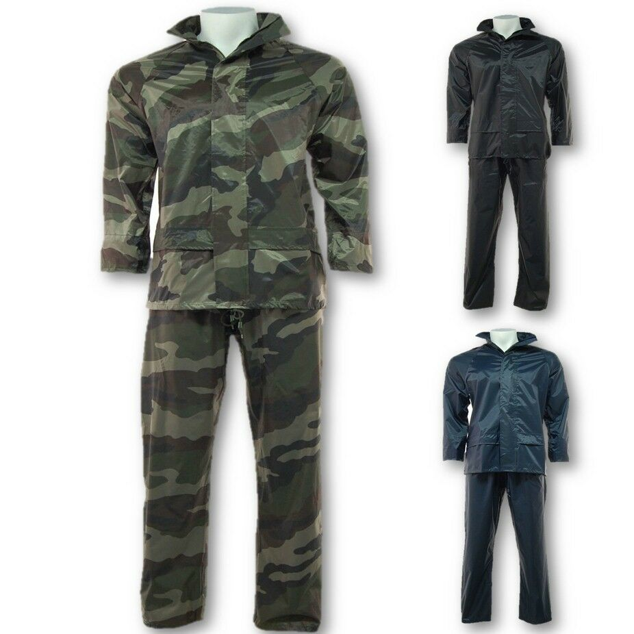 Bekleidung Result Regenanzug Jacke+hose Outdoor Trekking Angeln Wandern Workwear