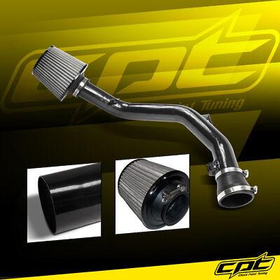 - 99-05 VW Golf GTI VR6 V6 2.8L Black Cold Air Intake + Stainless Steel Filter