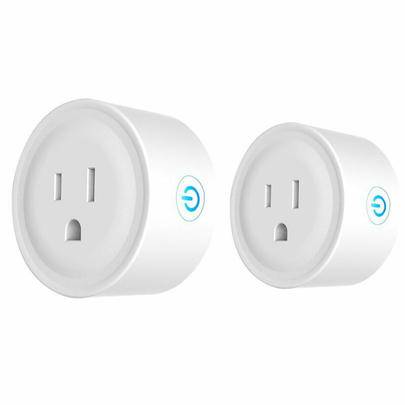 Alexa Smart Plug Pair - Compatible with Alexa and Google Home by Deco Gear