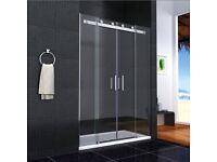 1400 glass shower enclosure