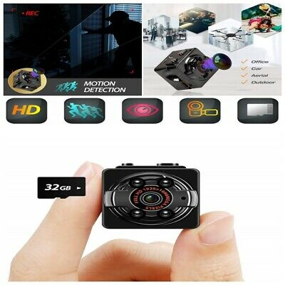 Mini Camara Portatil Vision Nocturna Inalambrica Audio Video Lentes HD 1080p