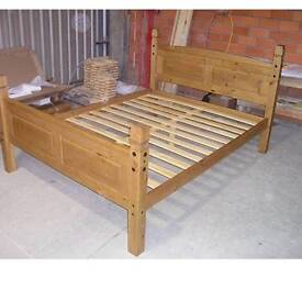 """Corona 5"""" High End King Foot Bed Frame"""