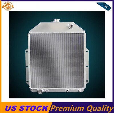 3 RowsAluminum Radiator Fit1942-48 49 50 51 52 Ford Truck PickupFORD Engine