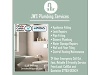 JWS Plumbing, Free 24hr Emergency Call Out, Free local Quotes, Damage Repair, Tilling, Plastering