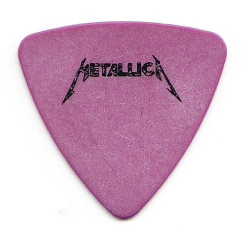 Metallica Jason Newsted Purple Bass Guitar Pick - 1986-1987 Damage Inc. Tour