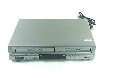 VCR/DVD Combo Player with Remote Sansui VRDVD4000  - Tested