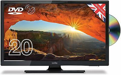 "Cello C20230FT2 20"" LED TV DVD Freeview HD with Satellite Receiver - Black (248)"