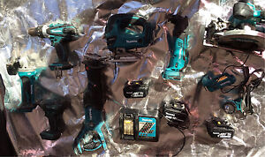 Makita cordless power tools 18v good condition Cartwright Liverpool Area Preview