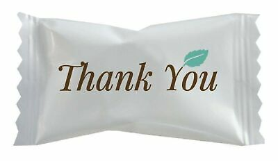 Hospitality Mints Buttermints, Individually Wrapped Mints with Thank You Mess...