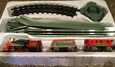 Vintage Christmas Tree Train Set ~ Part # 12898 ~ ****FOR PARTS ONLY***