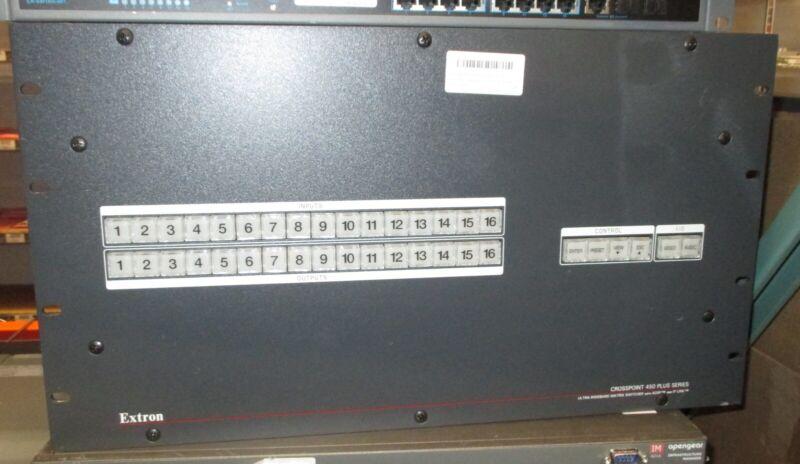 EXTRONCROSSPOINT 450 PLUS 816 HVA 8x16 Ultra-Wideband Matrix Switcher-Unit Only