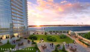 Stunning Views of Bedford Basin with floor to ceiling Windows