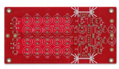 Kubota low noise regulator PCB with enhanced filtering cap arrays !!