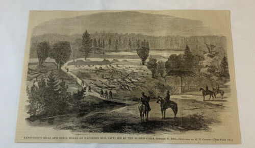 1864 magazine engraving ~ ARMSTRONG