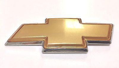 2006-2016 Chevrolet Impala & Monte Carlo Front Grille BowTie Emblem Gold OEM NEW