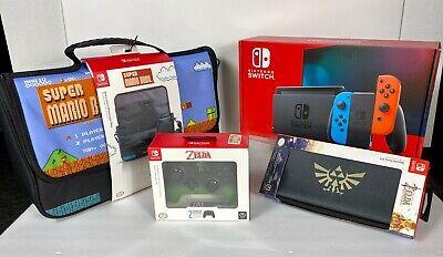 Nintendo Switch Grey 32GB Newest Model HAC-001(-01) Bundle ~ All New / NIB