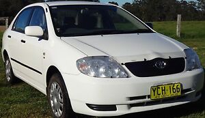2002 Toyota Corolla Sedan Beechwood Port Macquarie City Preview