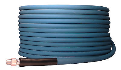 200 Ft 38 Blue Non-marking 4000psi Pressure Washer Hose 200 - Free Shipping