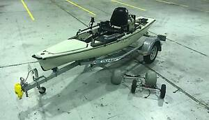 2015 Hobie Pro Angler 14 PA14  Mirage Fishing Kayak with Trailer Penrith Penrith Area Preview