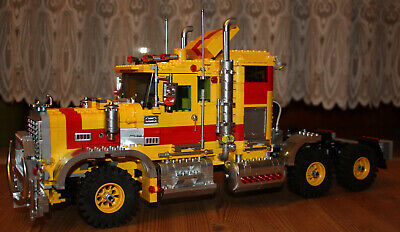 Bouwspellen Complete Sets Lego 5571 Team Black Cat Truck Ersatzteile