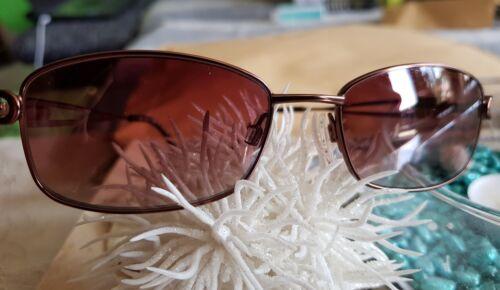 Damen Sonnenbrille Metallgestell von Fielmann braun metallic UV 400 blocked NEU