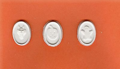Halloween coin plaster of Paris painting project. Set of 18! - Halloween Painting Projects