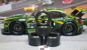 1-32-PAULGAGE-SLOT-CAR-TIRE-2pr-PGT-20125LMXD-NEW-SIZE-fits-BMW-Z4-GT3