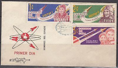 1Cuba Scott 775-7 FDC - Soviet Space Flights