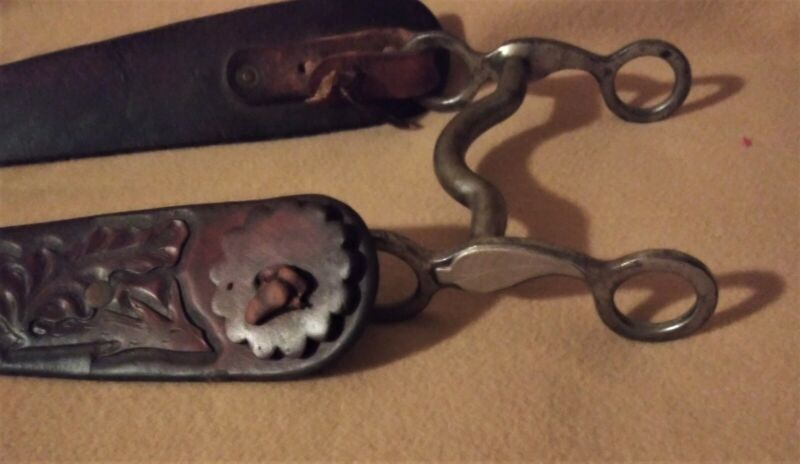Kelly Bit with Carved Leather Headstall