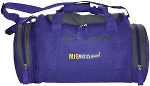 Ladies-Purple-Holdall-Gym-Sports-Bag-Travel-Sports-School-Work-etc-MIG-07M