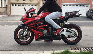 Clean CBR 600rr with Safety and Low km for sale