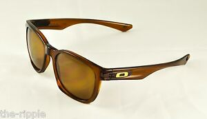 Oakley Garage Rock Sunglasses - Dark Amber / Bronze Polarized - OO9175-06 - NEW
