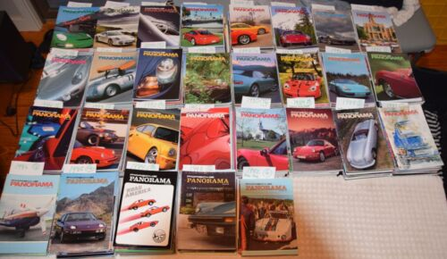 28 Years of Porsche Panorama Magazines 327 issues 1982-2010 Excellent Cond